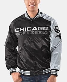 Men's Chicago White Sox Dugout Starter Satin Jacket