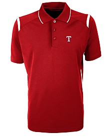 Antigua Men's Texas Rangers Merit Polo
