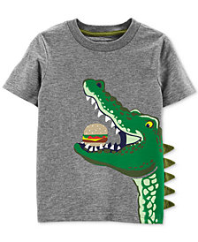 Carter's Toddler Boys Graphic-Print Cotton T-Shirt