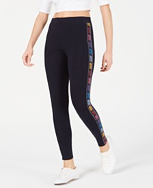 Juicy Couture Logo-Stripe Leggings