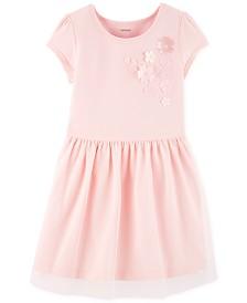 Carter's Toddler Girls Floral Appliqué Dress