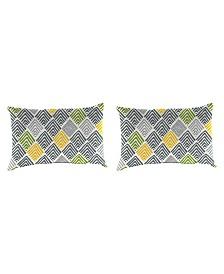 Jordan Manufacturing Outdoor  Toss Pillows - Set of 2