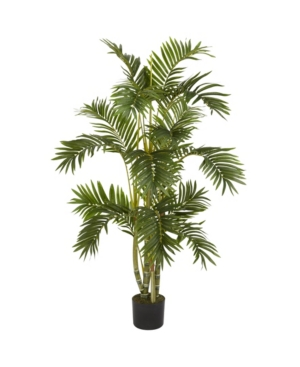 Nearly Natural 4' Areca Palm Faux Silk Tree