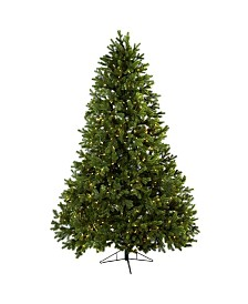 Nearly Natural 7.5' Royal Grand Christmas Tree w/Clear Lights