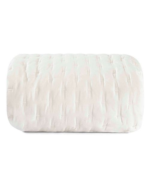 Vera Wang Luster Cloud Grey Quilt, King