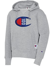 Champion Men's Century Logo Hoodie