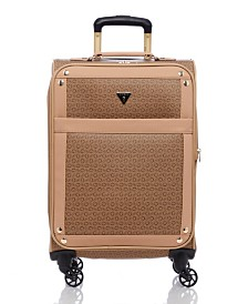 "GUESS Fashion Travel Quora 20"" Spinner Upright Luggage"