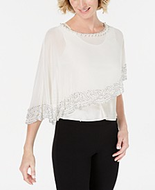 Embellished Cape, Created for Macy's