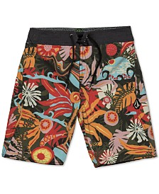 Volcom Little Boys Printed Swim Trunks