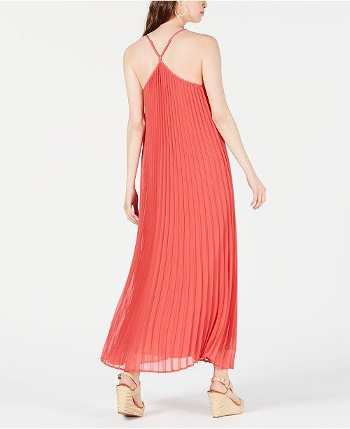 86eca9e762 Bar III Pleated Maxi Dress, Created for Macy's & Reviews - Dresses ...