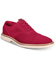 Men's Varick Alfatech Comfort FLX Textured Knit Oxfords, Created for Macy's