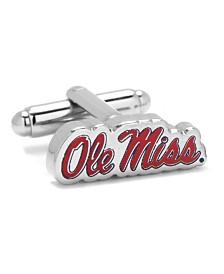 Ole Miss University Rebels Cufflinks