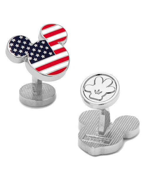 Cufflinks Inc. Stars and Stripes Mickey Mouse Cufflinks