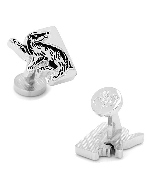 Cufflinks Inc. Hufflepuff House Badger Cufflinks