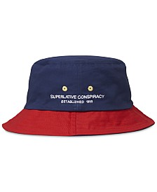 WeSC Men's Reversible Colorblocked Bucket Hat