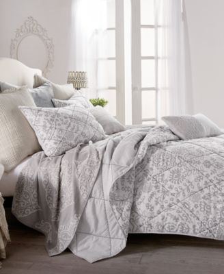 Home Block Print Floral King Quilt