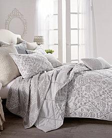 Peri Home Block Print Floral Full/Queen Quilt