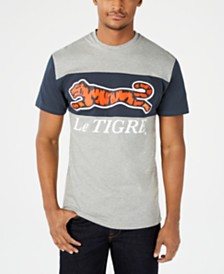 Le Tigre Two-Tone Logo Graphic T-Shirt