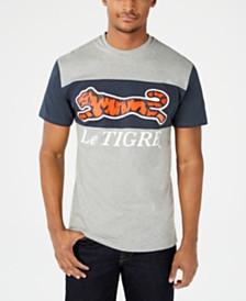 Le Tigre Two-Tone Logo Graphic T-Shirt