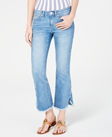 MICHAEL Michael Kors Cropped Flare-Leg Jeans