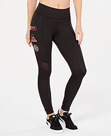 TZ High-Waist Logo Leggings