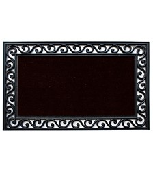 Home & More Midnight Coir/Rubber Doormat Collection