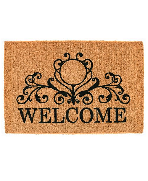 f2a500f446 Home   More Kingston Welcome Coir Doormat Collection   Reviews ...