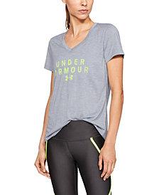 Under Armour Tech™ Twist Graphic V-Neck Short Sleeve
