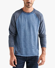 Men's Microterry Burnout Crew