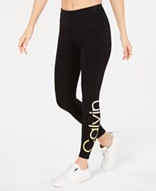 Calvin Klein Performance Logo Ankle Leggings