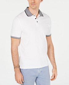 Michael Kors Men's Jacquard Polo, Created for Macy's