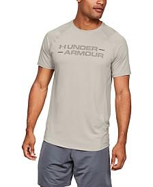 Under Armour Men's MK-1 Wordmark Short Sleeve Shirt