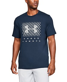 Under Armour Men's Branded Big Logo Short Sleeve