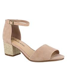 Fable Block Heel Wrap Sandals
