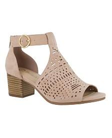 Bella Vita Finn Cutout Sandals