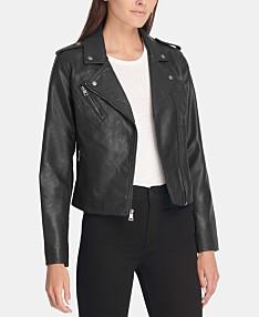 a93742cb8 Faux Leather Jackets For Women: Shop Faux Leather Jackets For Women ...