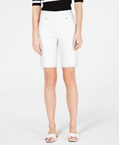 296836486 I.N.C. Pull-On Bermuda Shorts, Created for Macy's