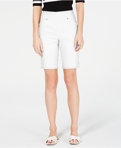INC International Concepts I.N.C. Petite Bermuda Shorts, Created for Macy's