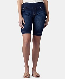 Lee Platinum Petite Pull-On Bermuda Shorts