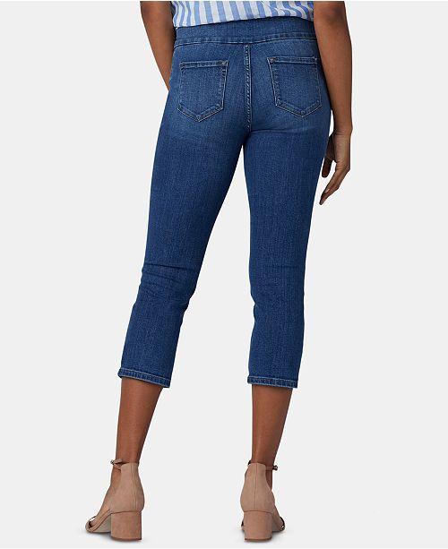 07aaab071adfe Lee Platinum Petities Flex Cargo Capri Pants - Jeans - Petites - Macy s