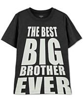a3920e3d27ac Carter's Little & Big Boys Best Big Brother Graphic T-Shirt