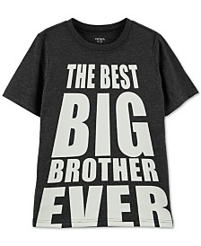 Carter's Little & Big Boys Best Big Brother Graphic T-Shirt
