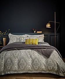 Bedeck Ziba Full/Queen 5Pc Comforter Set