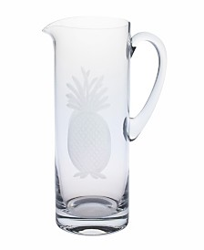 Rolf Glass Pineapple Pitcher 35Oz