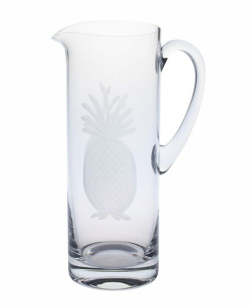 Rolf Glass Pineapple Pitcher 35Oz