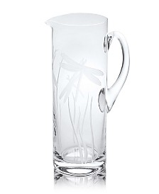 Rolf Glass Dragonfly Pitcher 35Oz