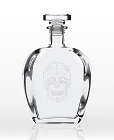 Sugar Skull Decanter 23Oz