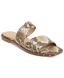 Marc Fisher Jaylin Studded Flat Sandals
