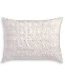 Hotel Collection Woodrose Quilted Standard Sham, Created for Macy's