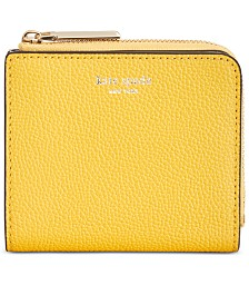 kate spade new york Margaux Pebble Leather Bifold Wallet